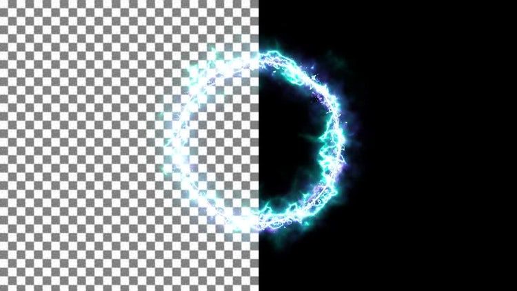 Energy Portal Ring: Motion Graphics