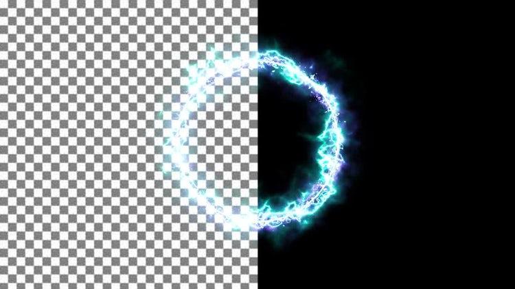 Energy Portal Ring: Stock Motion Graphics