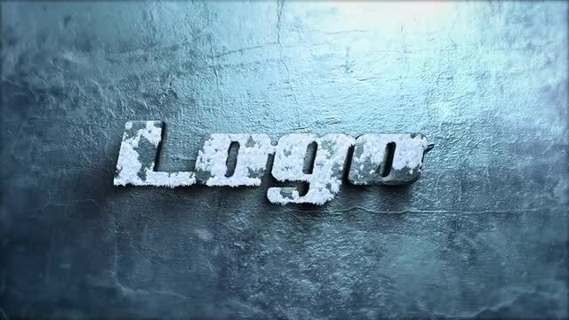 Ice Logo Reveal: After Effects Templates