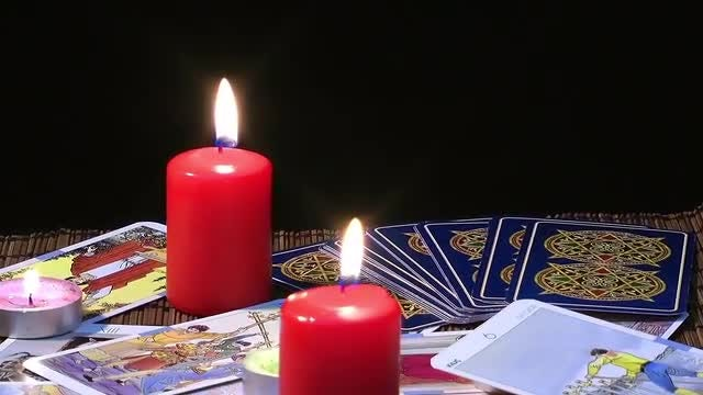 Tarot Cards Fortune Telling Pack: Stock Video