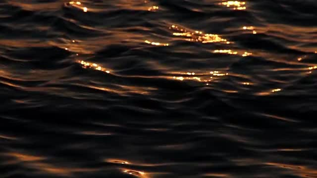 Close-up Shots Of Sea Waves: Stock Video