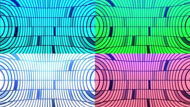 Colorful Club Background Set: Stock Motion Graphics