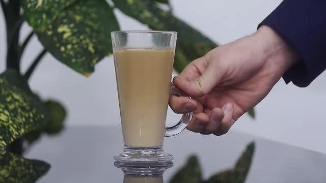 Man Stirring His Coffee: Stock Video