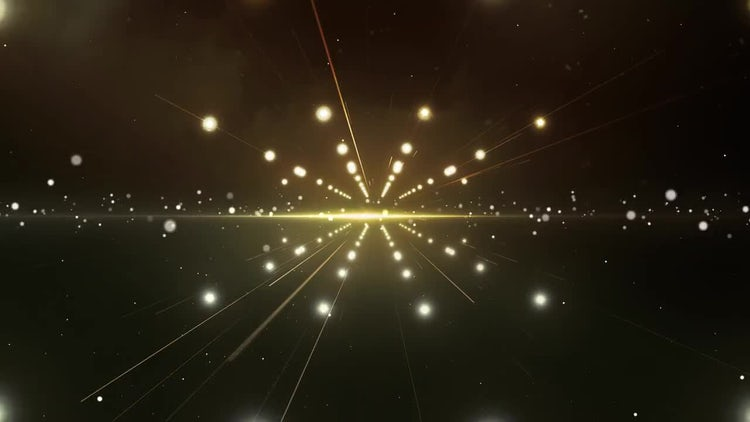 Stellar Space Tunnel Digital Background: Stock Motion Graphics