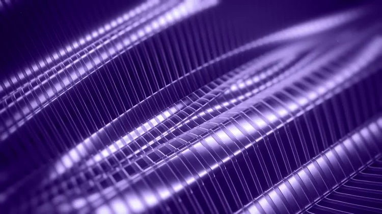 Metal Ridges Pattern Background: Stock Motion Graphics