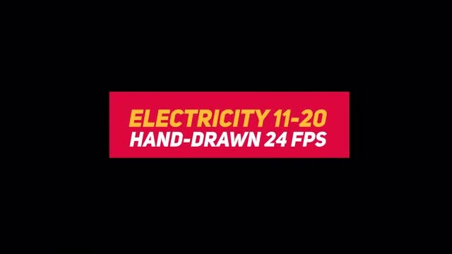 Liquid Elements 3 Electricity 11-20: Stock Motion Graphics