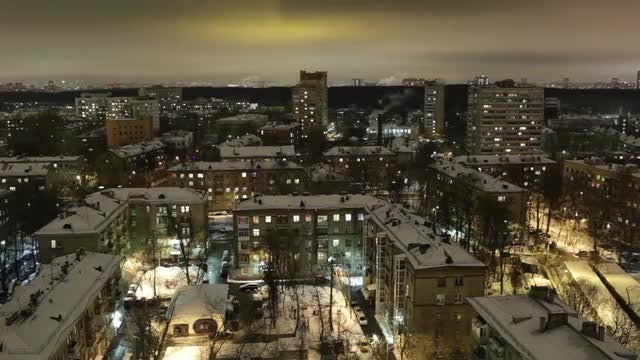 City Time-Lapse At Night: Stock Video