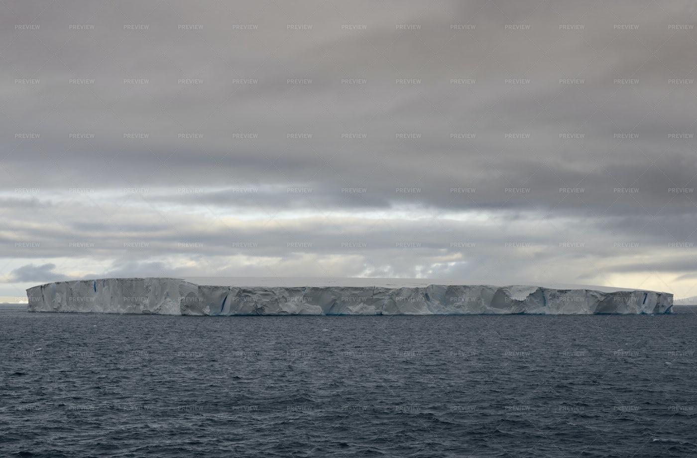 Huge Tabular Iceberg: Stock Photos