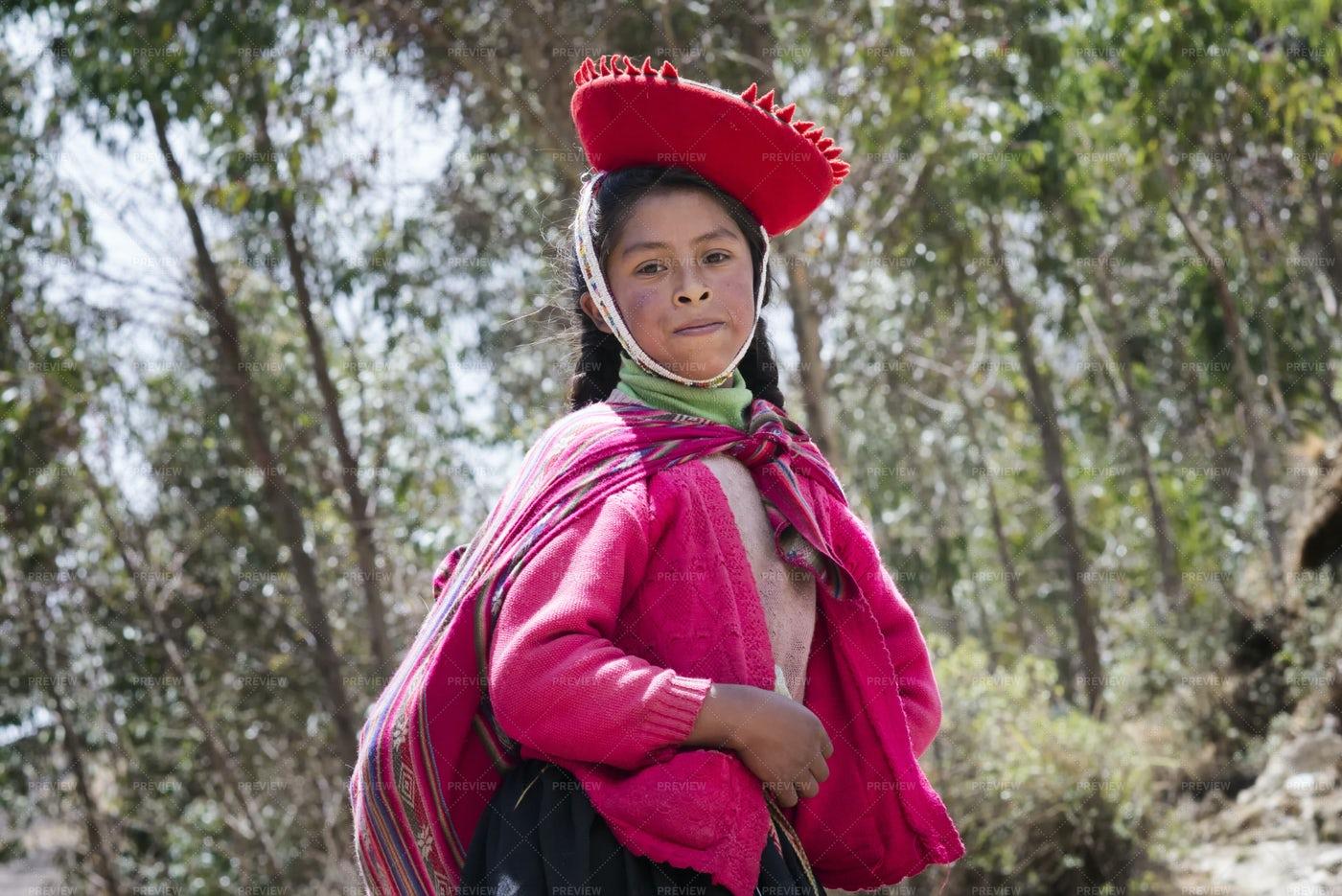 Peruvian Girl: Stock Photos