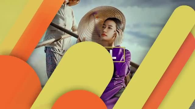 Colorful Shape Slideshow: After Effects Templates