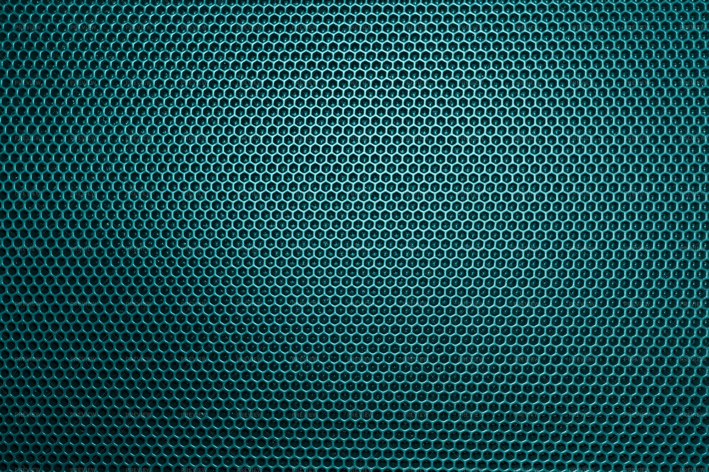 Turquoise Metal Grill: Stock Photos