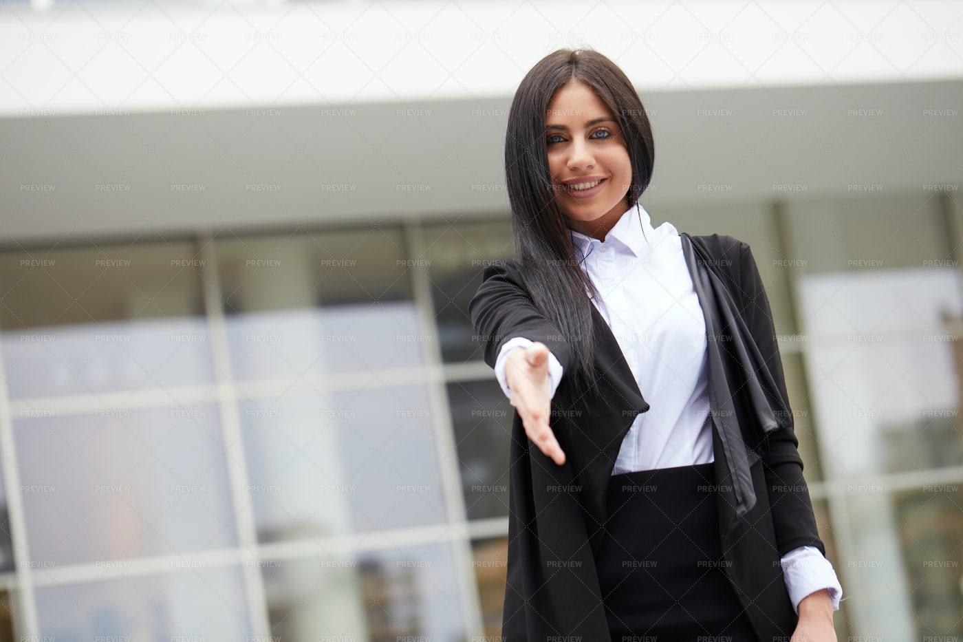 Businesswoman Handshake: Stock Photos