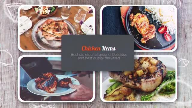 Restaurants Promo: After Effects Templates