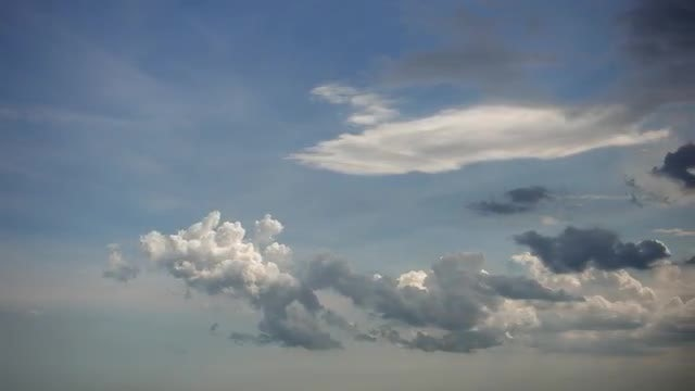 Rolling Clouds Into Storm Clouds: Stock Video