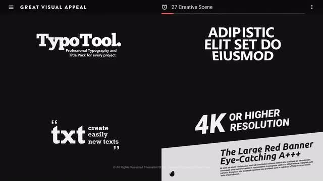 Clean Typo Worldwide: After Effects Templates