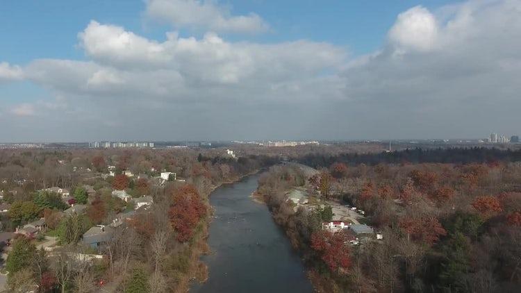 Panoramic View Of Beautiful City: Stock Video