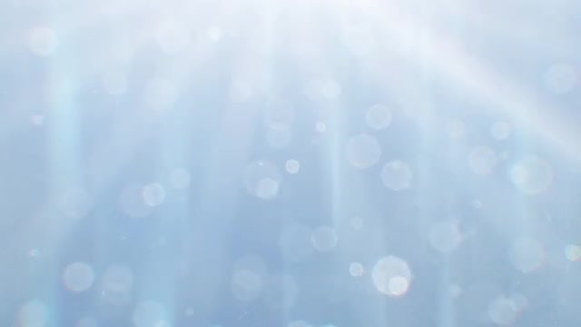 Icy Bokeh Background: Stock Motion Graphics