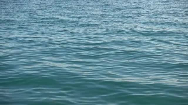 Ocean Water With Waves 4K: Stock Video