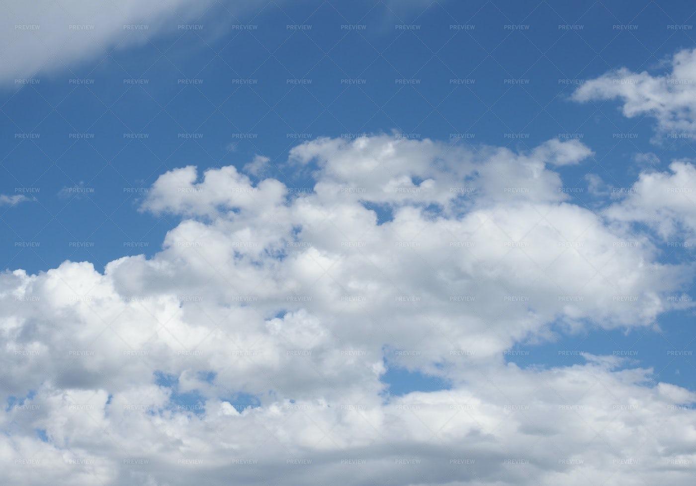 Cloudscape Background: Stock Photos