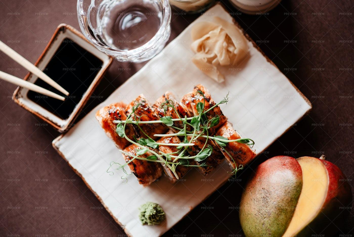 Sushi Set: Stock Photos
