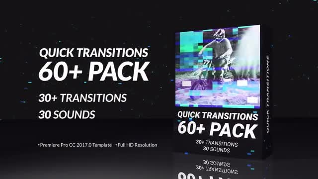 Quick Transitions Pack: Premiere Pro Templates