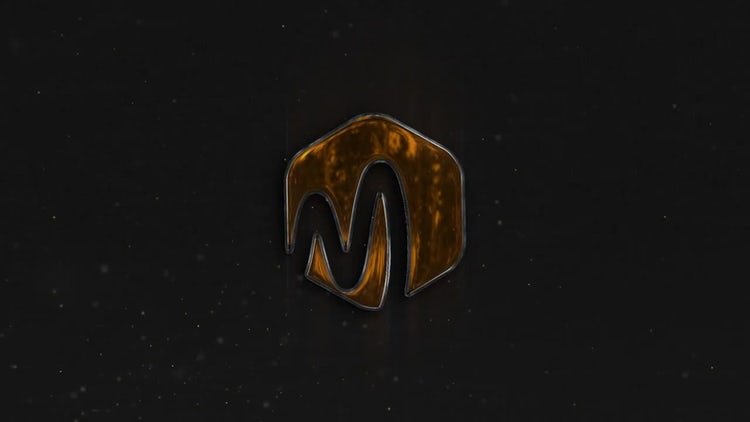 Gold Logo Reveal: After Effects Templates