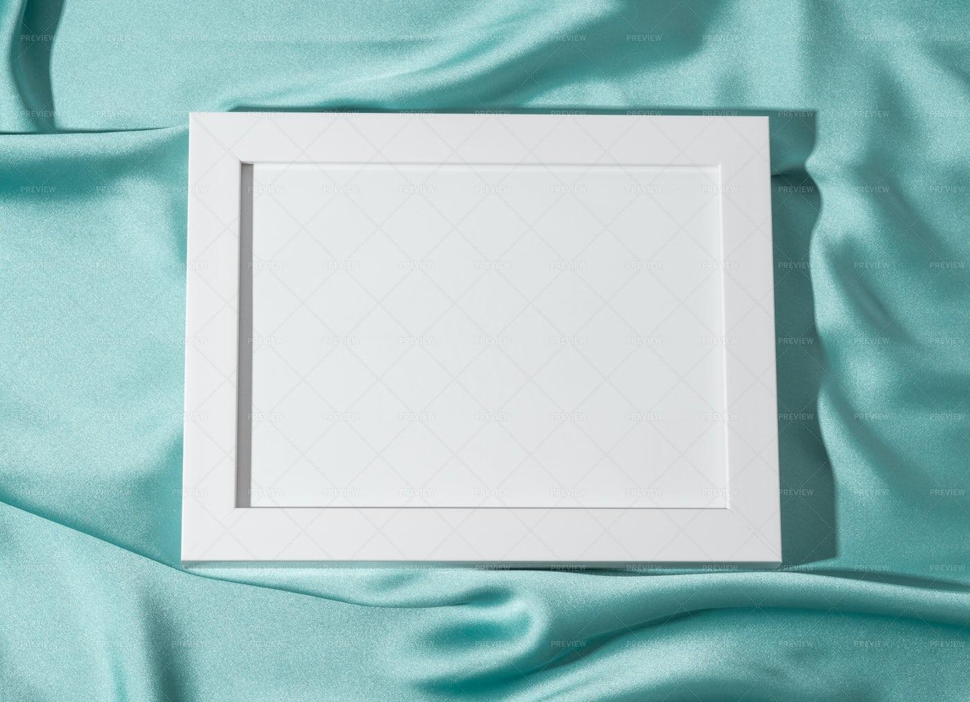 White Empty Mockup Frame: Stock Photos