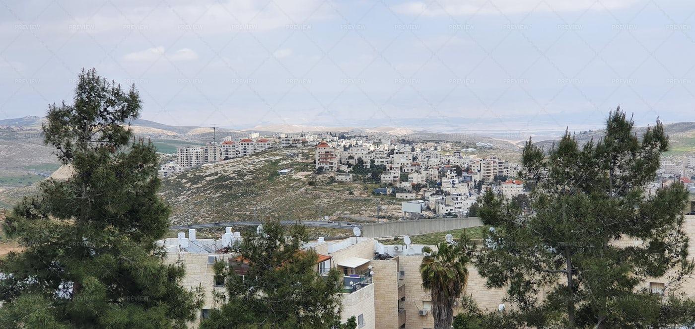Jerusalem Pisgat Ze'ev Area: Stock Photos