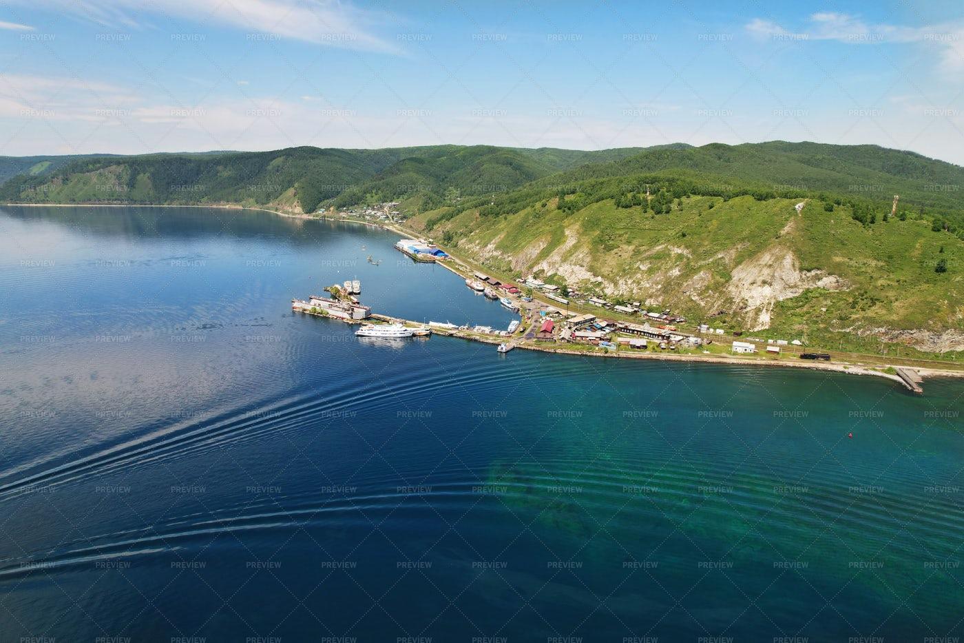 Port Of Baikal: Stock Photos