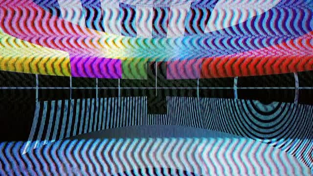 Old School TV Glitch Pack: Stock Motion Graphics