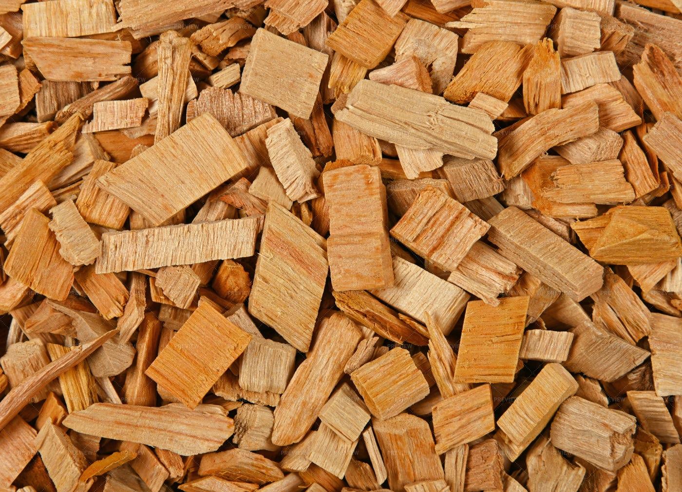 Hardwood Chips: Stock Photos