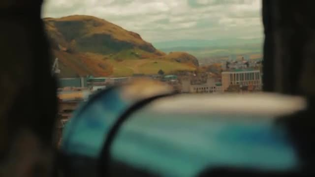 Holyrood Park: Stock Video