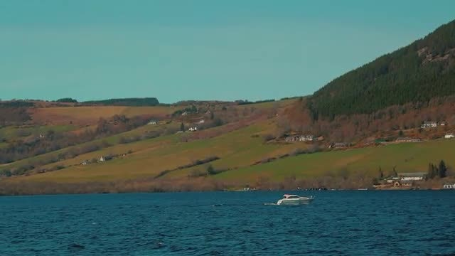 Loch Ness In Scotland, UK: Stock Video