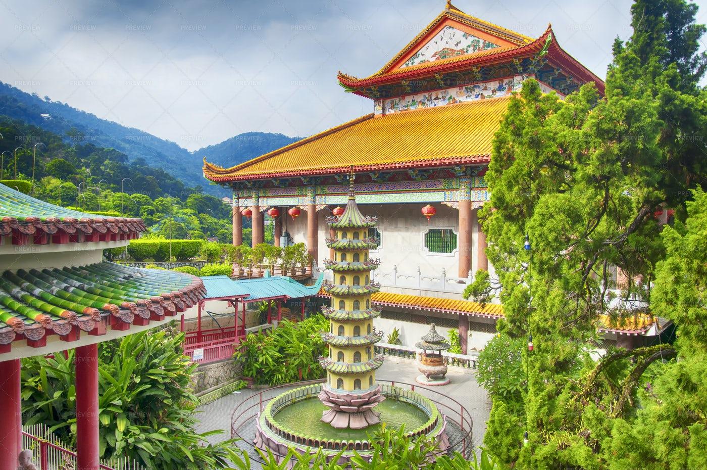 Kek Lok Si Temple Penang Malaysia: Stock Photos