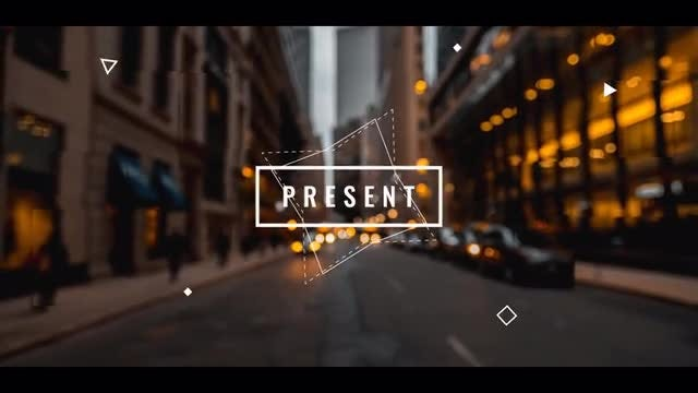 Geometric Opener: After Effects Templates