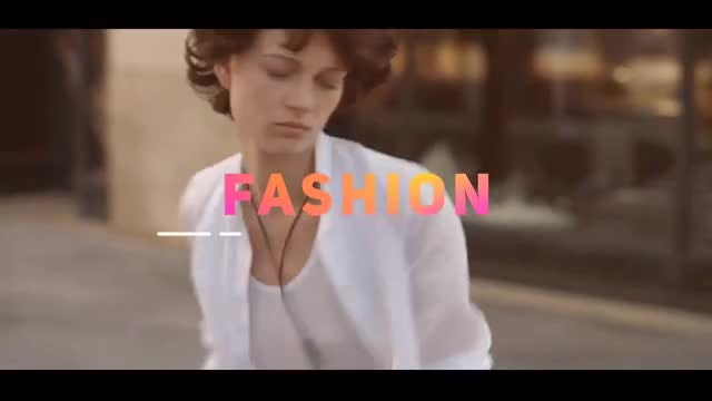 Quick Fashion Opener: After Effects Templates