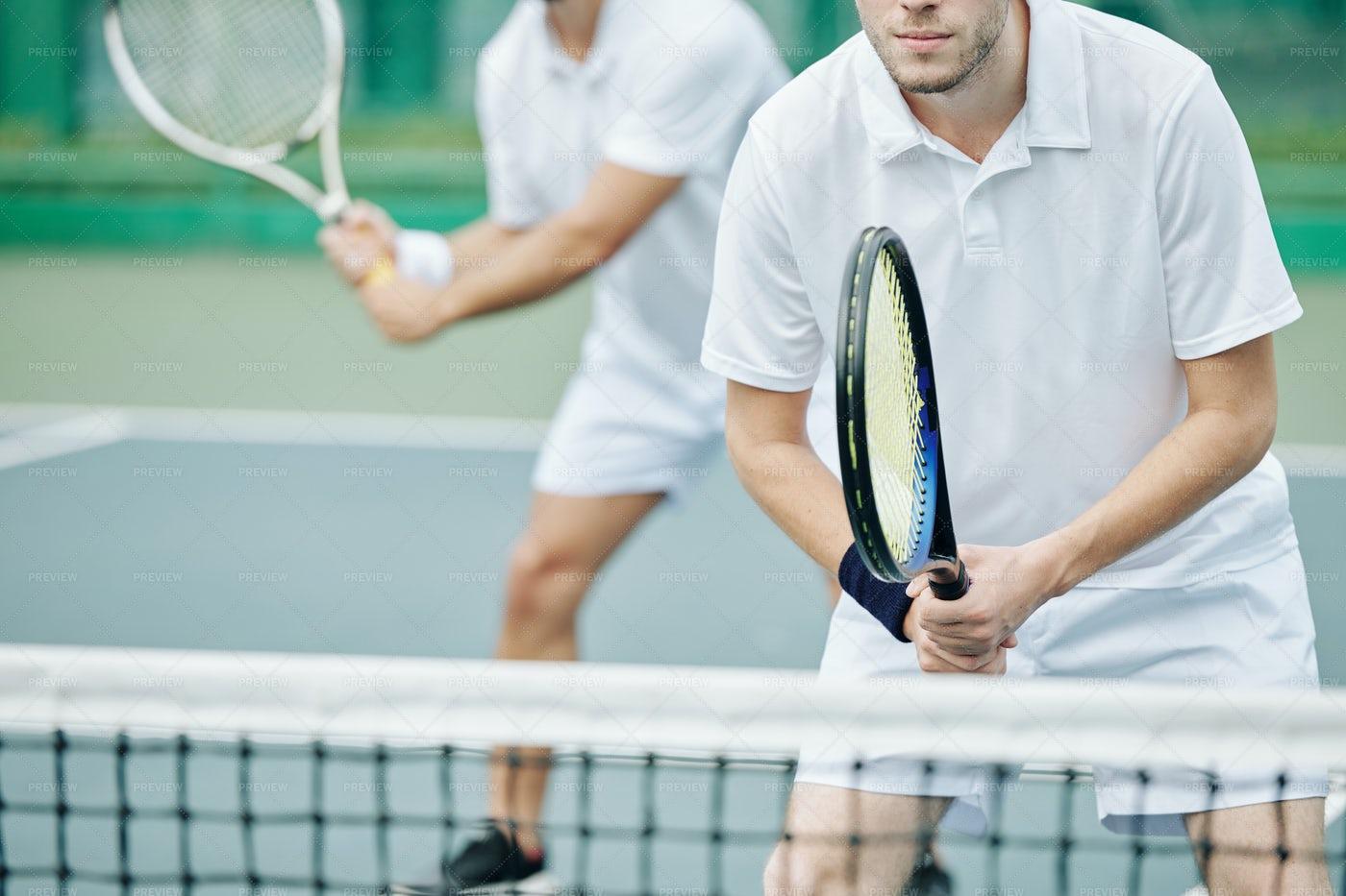 Tennis Players: Stock Photos