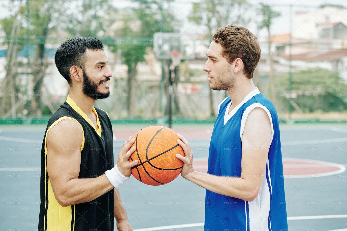 Basketball Game: Stock Photos
