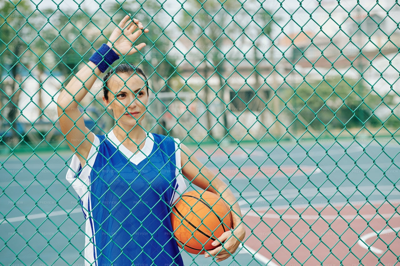 Female Basketball Player: Stock Photos