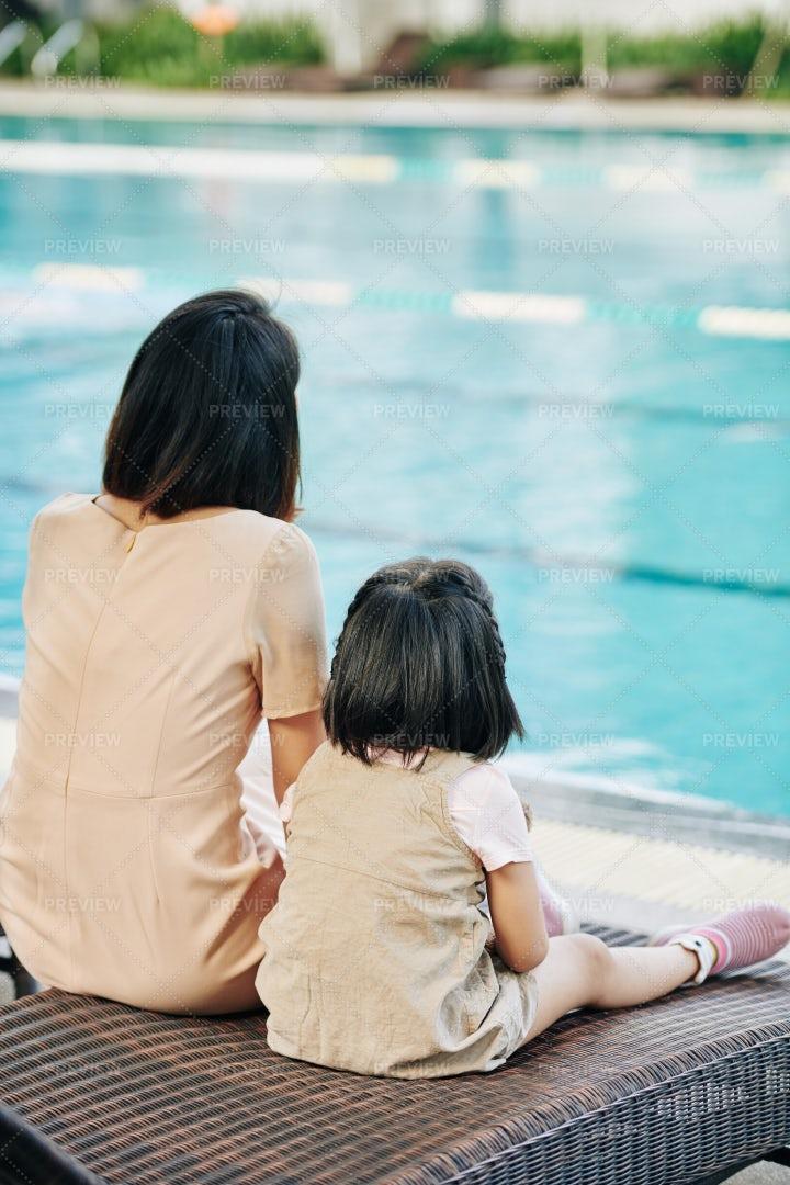 Looking At Swimming: Stock Photos