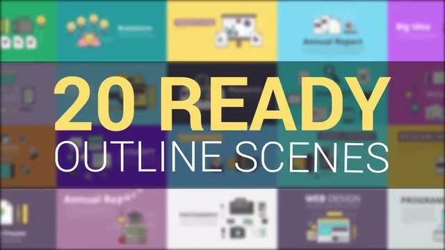 Outline - Explainer Kit: Motion Graphics Templates