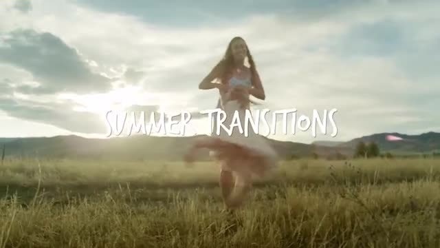 Summer Transitions: Premiere Pro Templates