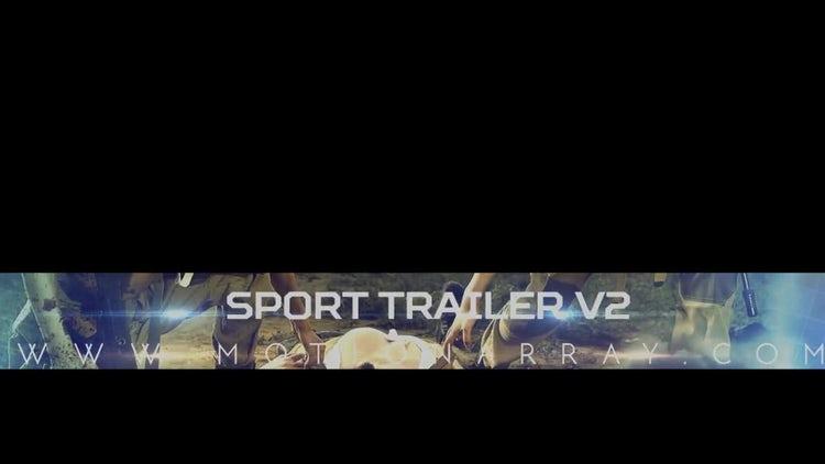 Sport  Trailer V2: After Effects Templates