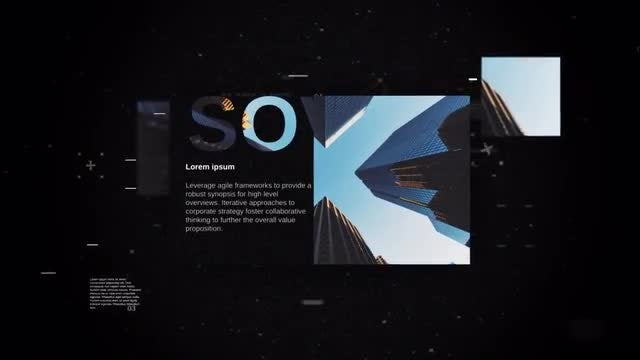 Business Technology Slideshow : After Effects Templates