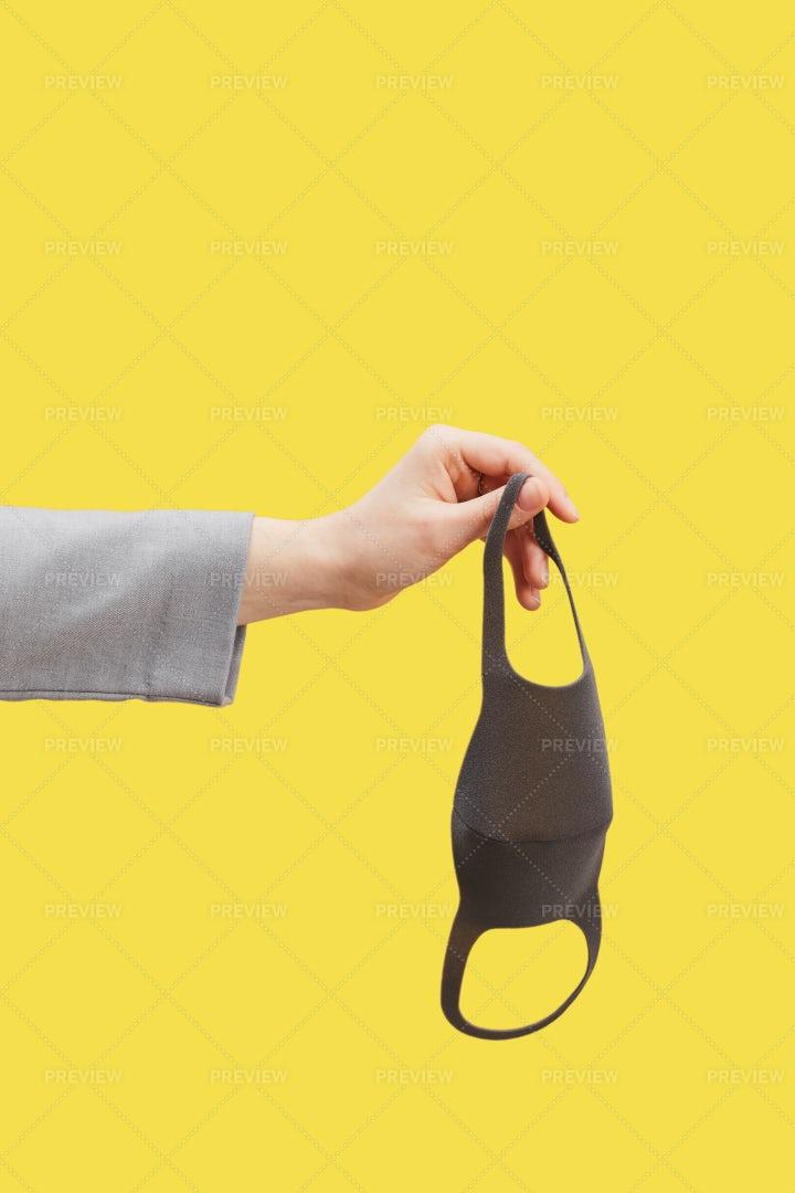 Taking Off Masks: Stock Photos