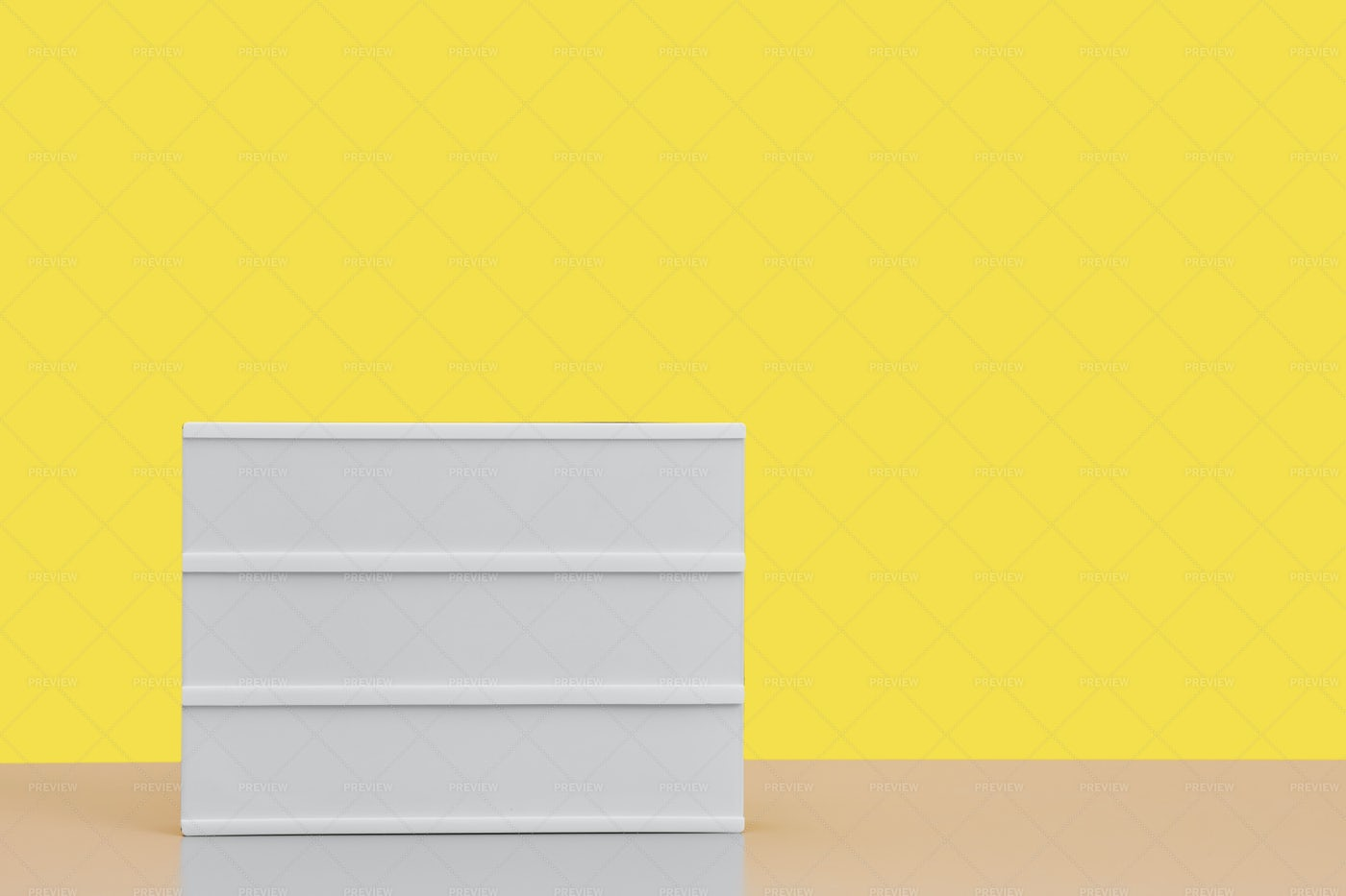 Blank Sign Background Against Yellow: Stock Photos
