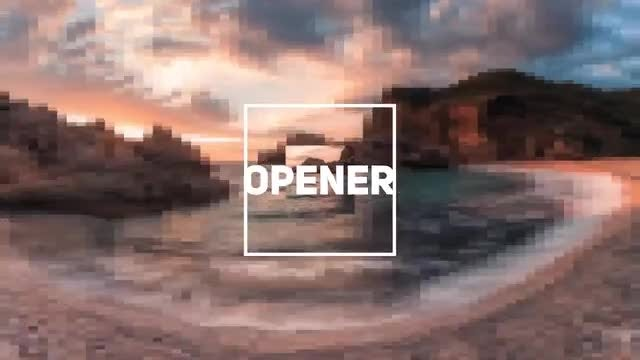 Rhythmic Intro Opener: After Effects Templates