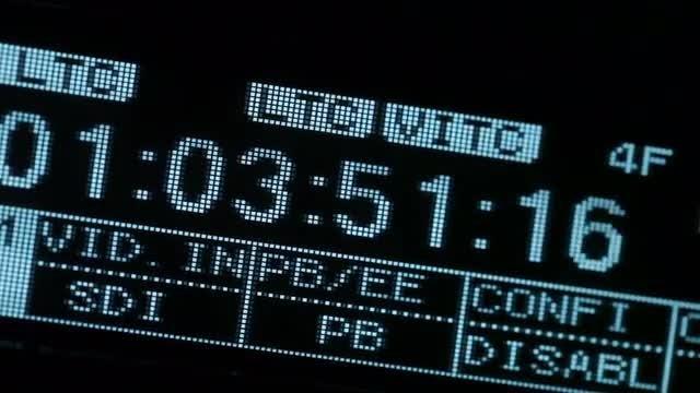Running Time Code: Stock Video