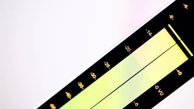 Digital Equalizer: Stock Video