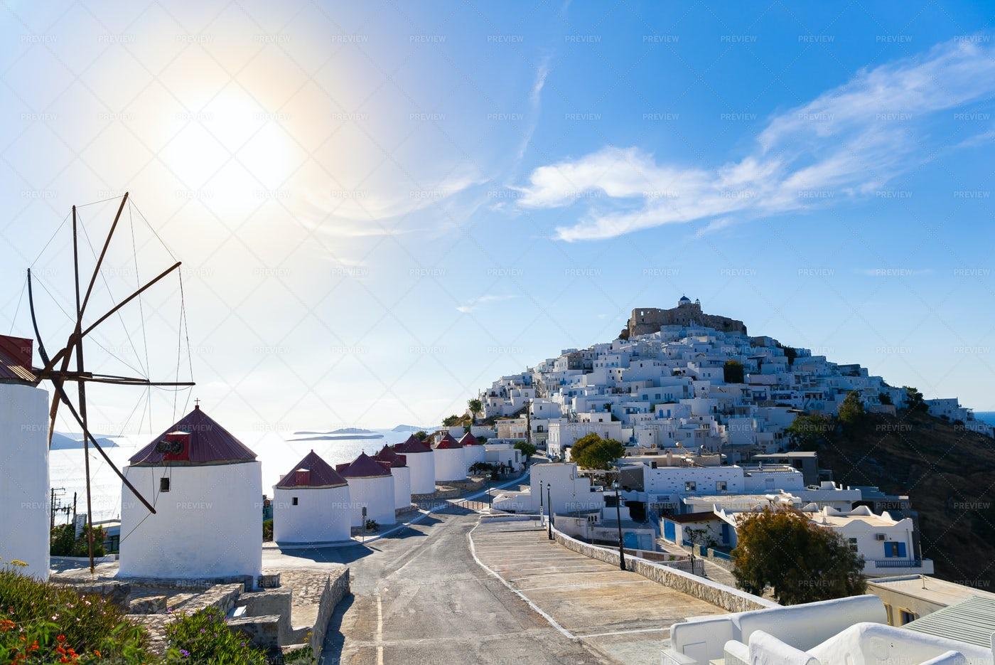 Greek Island Of Astypalaia: Stock Photos